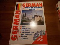 German language intensive course with CDs and book. Free Hackney, East London