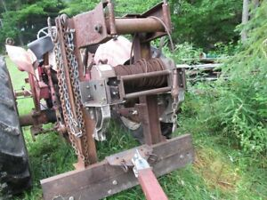Tractor and Forestry Winch