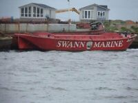 Ex Racing Barge for Conversion - Anne