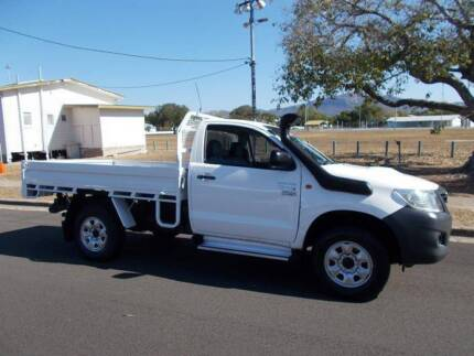 2013 Toyota Hilux Workmate Single Cab Utility