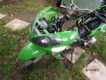Scooter Alien 150 in parts, complete