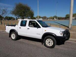 1998 Nissan Navara DX Dual Cab 4x4 Utility Hermit Park Townsville City Preview