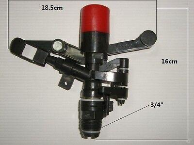 34 Plastic Adjustable Impact Red Sprinkler Heads