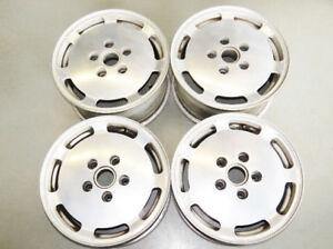"""Porsche 1985-1994 OEM Staggered Mag Wheels Set 16"""" 92836211700"""