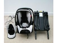 Recaro Young Profi Plus Car Seat with ISO FIX Base