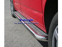 VW T5 Transporter side steps SWB Short wheel base