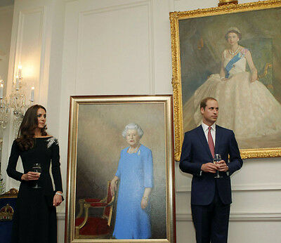 Catherine, Duchess of Cambridge & Prince William UNSIGNED photo - H5885
