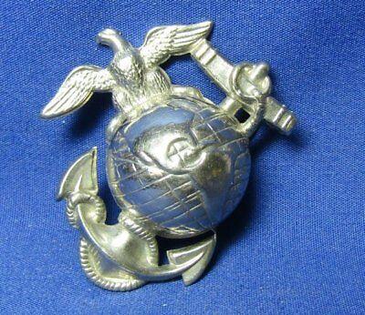 Spanish American War SAW USMC EGA Hat Badge WIRE ATTCHMENT SYSTEM