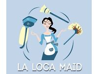 £8,50 - £10.50 La Loca Maid, cleaning company is looking for great team members