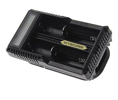 NITECORE UM20 LCD-Panel Intelligent Charger für 18650 Akku e Zigarette