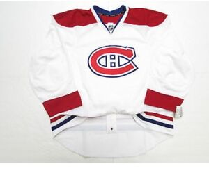 Wanted: Size 50 MONTREAL CANADIENS AUTHENTIC AWAY REEBOK EDGE si