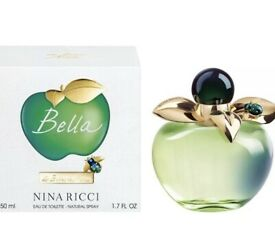 Nina Ricci Bella Eau de Toilette Fragrance/Perfume 50 ML NEW