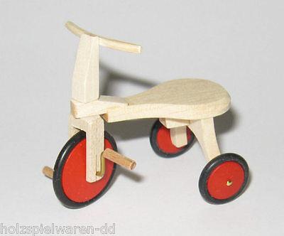 Liebe HANDARBEIT 46011 Triciclo funzionale 1:12 per casa delle bambole 0930 #