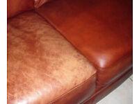 Mobile leather sofa repair Aberdeen