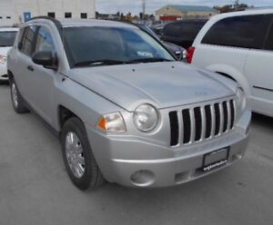 2007 Jeep Compass 4x4 Manual