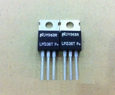 5pcs Lm338t Lm338 Adjustable Regulator Ic New
