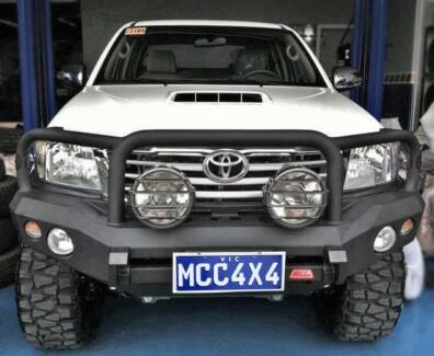 TOYOTA HILUX STEEL BULL BAR SPECIAL FROM $1150 Myaree Melville Area Preview