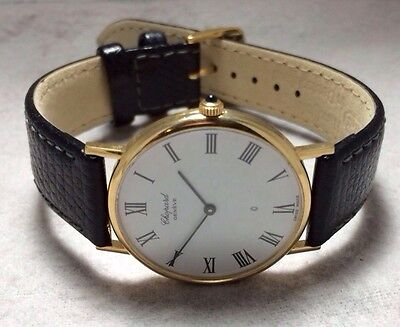 Chopard 18K Yellow Gold Classique Watch #1091