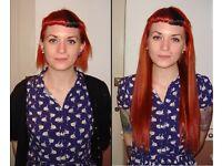 Stylish, Natural Human Hair Extensions, Mobile, No Glue, No Damage