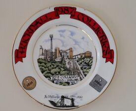 Hucknall Commemorative Miners' Colliery Plaque - £13