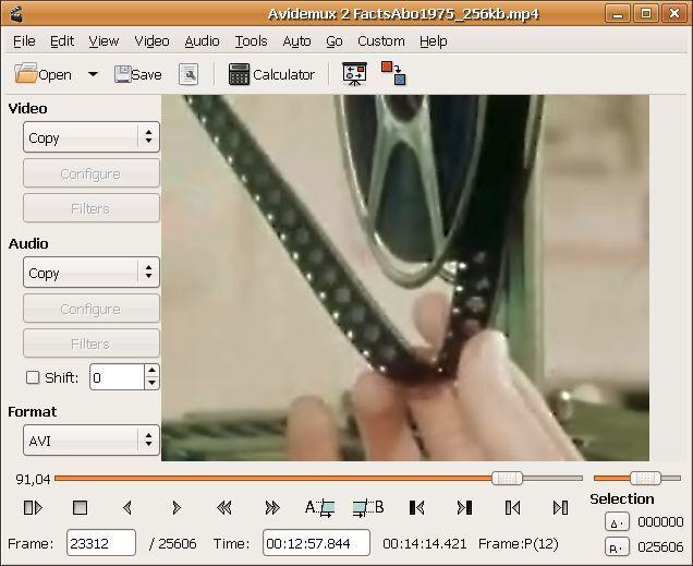 Avidemux  Windows/Mac CD
