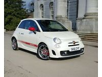 Abarth 500 1.4 T-Jet 70k miles Cambelt done at Abarth dealership receipts here Cheapest in the UK!!!