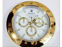 Rolex wall clock, Large size metal clock