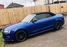 2015 AUDI A5 S LINE 2.0TDI SPECIAL EDITION PLUS CONVERTIBLE 16,000 miles