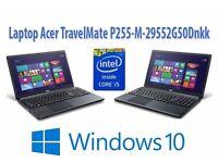 "Acer TravelMate P255 15.6"" Laptop - intel Core i5-4200U - 8GB RAM"