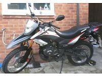 keeway tx 125 motorbike