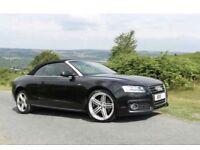 Audi A5 convertible 2.0 tdi sline