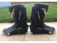 RST Tractech Evo - Motorycle boots, size 8, Waterproof