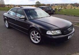 Audi A8 Auto 2001 Satin Black Excellent condition