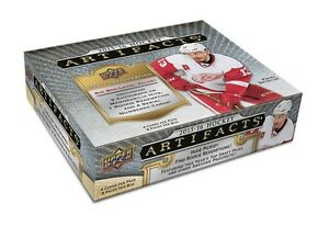 2015-16 Upper Deck Artifacts Hockey Trading Cards Hobby Box