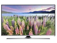 """48"""" White Smart LED TV with Freeview Series 5 Full HD 1080p and Built-in Wi-Fi"""