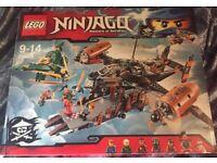Lego 70605 ninjago misfortunes keep new & sealed box
