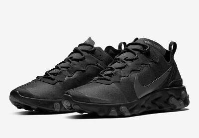 Nike React Element 55 Men's and Women's running shoes BQ6166 008 Multiple (Women And Running)