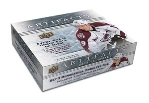 2014-15 Upper Deck Artifacts Hockey Cards Hobby Box