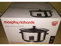Morphy Richards 6.5L Slow Cooker - BNIB