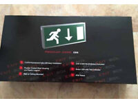 Fire exit sign LED new