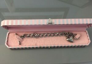 Juicy Couture Silver Bracelet $25