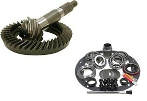 DANA 80 - 1 TON REAREND - 3.54 RING AND PINION- MASTER INSTALL - GEAR PKG