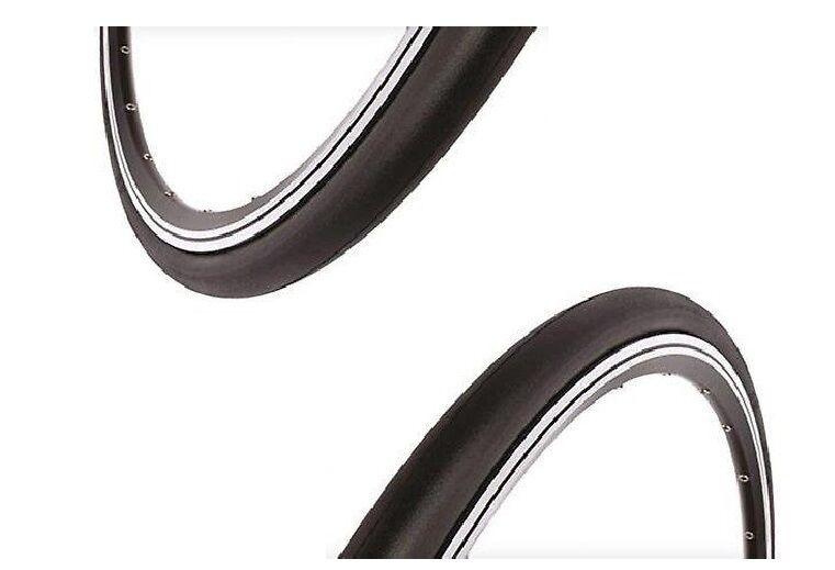 TR740RD Qty 2 700x23 700c x 23mm Fixie Urban Road Bike Slick Tires tyres RED