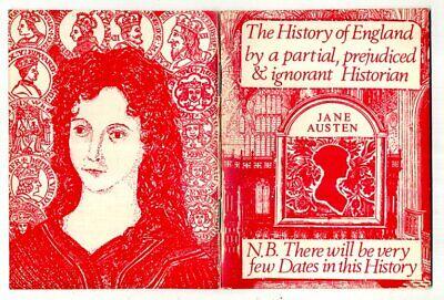 History England by partial, prejudiced & ignorant Historian JANE AUSTEN ed Carr