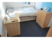 Single and Double room available, all bills included