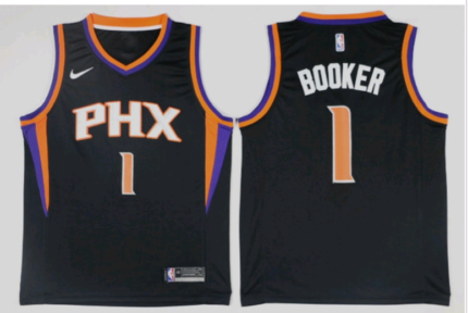 Devin booker nba nike jersey rep.