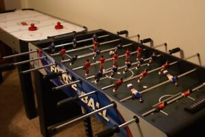 foose ball & hockey tables
