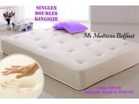 💜💜💜 MR MATTRESS COOL TOUCH BETTER THAN HALF PRICE MATTRESSES - SINGLE - DOUBLE - KING