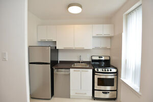 **One Month Free**Renovated Bachelor Suite (Eglinton West/Keele)