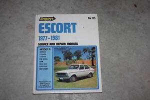 Ford Escort Workshop manual. *****1981 Currimundi Caloundra Area Preview